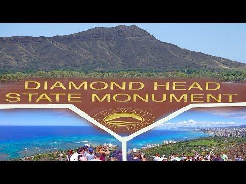 Daimond Head , Oahu - Hawaii 2016 4K