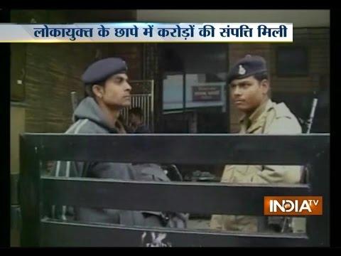 MP: Lokayukta Team Raid at Govt Officer's House in Ujjain