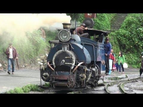 [Indian Rail]Toy Train in Darjeeling