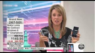 Home Shopping Network selling the Nokia Lumia 521