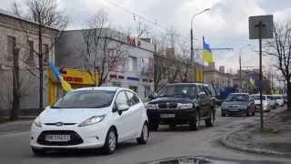 Автопробег в Северодонецке 5 04 15