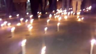 মোম বাতি প্রজলন ২৫ শে মাচ ২০১৬ আয়োজনে ঃ মধ্য গাজিরচট ফেন্ডস  ক্লাব ।ইউনিক আশুলিয়া সাভার ঢাকা