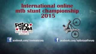 Invitation to join International Online MTB Stunt Championship 2015