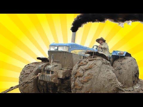 Tractors stuck in mud 2017, big tractors getting stuck [2017] ultimate compilation video,