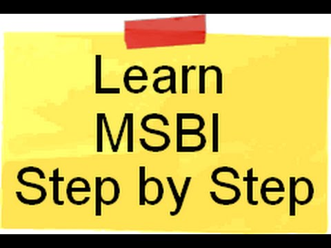 Download Learn SSIS,SSAS and SSRS ( MSBI ) Step by Step free