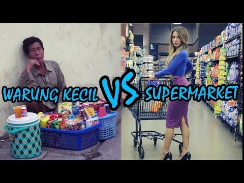 Social Experiment - Pilih WARUNG KECIL atau SUPERMARKET ?? Coba Tonton Video Ini Sambil Berfikir !