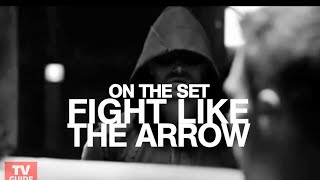 Arrow's stunt coordinator teaches us how to fight like Oliver Queen -- On the Set!