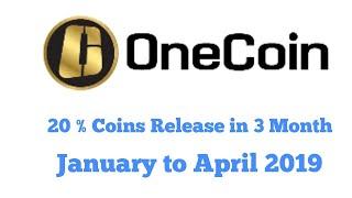 Onecoin 2019 | Onecoin Open Market 2019 | Onecoin Coin Releasing Calculation