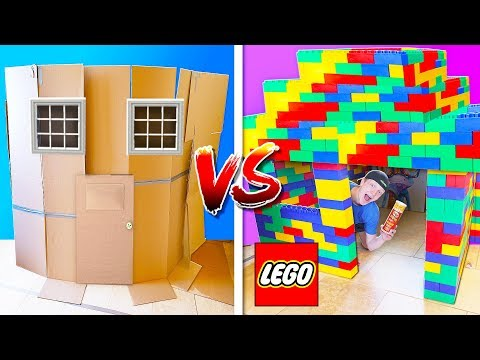 FIRST ONE TO BUILD A HOUSE WINS 10 000 CASH