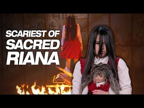 Don t Watch Sacred Riana If You re Scared Of The Dark America s Got Talent 2018