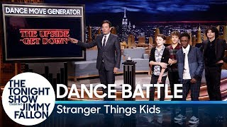 Dance Battle with the Stranger Things Kids