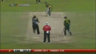 Amir World Record 73 Vs New Zealand - 1/3