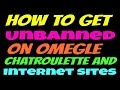 How to get unbanned from omegle chatroulette minecraft websites games change public ip address
