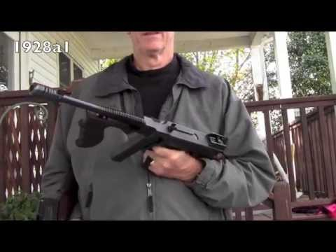 model 1921 colt vs model 1928a1 thompson submachine gun a side by side comparison