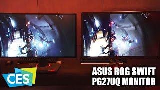 CES 2017: ASUS ROG Swift PG27UQ Gaming Monitor