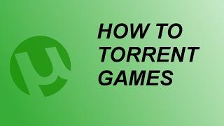HOW TO DOWNLOAD GAMES WITH UTORRENT/ KAKO SKIDATI IGRICE PREKO TORENTA!! 2017