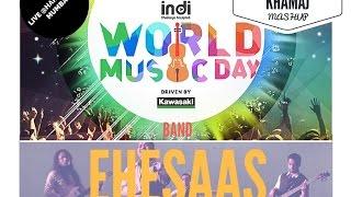 The World Music Day Mashup | Khamaj | Kabira | Jhini re Jhini | Amarabha | Ehsaas