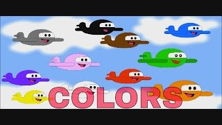 Learning Colors With Airplanes - Colors With Airplanes - Colours With Airplanes