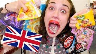 AMERICAN EATS BRITISH TREATS AND SWEETS