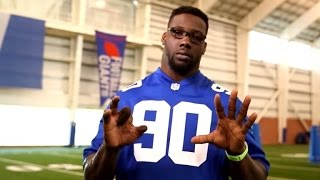 NFL Star Jason Pierre-Paul Bares Firework Accident Scars To Warn Others