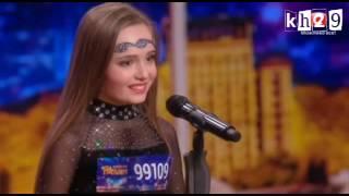 طفلة أوكرانية تبدع بالرقص الشرقي على موسيقى عربية