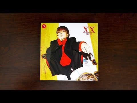 Xxx Mp4 Unboxing MINO 송민호 Debut Full Length Album 'XX' Version 1 3gp Sex