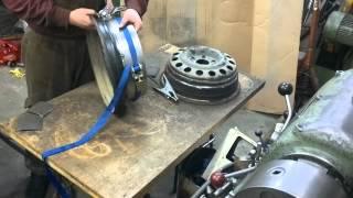 Widening steelies