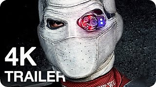 SUICIDE SQUAD Trailer 1-3 (2016) 4K UHD