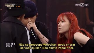 Asol & Wonjae (Diss battle vs Woochan & Nucksal) [Legendado PT-Br]