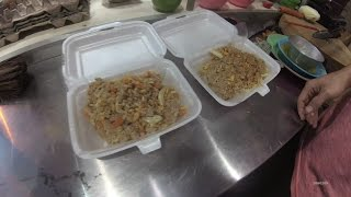 Jakarta Street Food 1114 Part.6  Vegetarian Fried Rice Nasi Goreng Vegetarian Bakmi Queen  5993