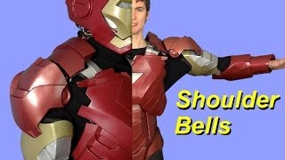 XRobots - Iron Man Cosplay, modifying and refitting the shoulder bells, for my life sized suit
