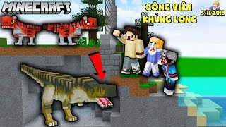 MINECRAFT THẾ GIỚI KHỦNG LONG TẬP 1 - LUCY,GUMBALL,MAZK KHỦNG LONG ĐỎ - LUCY MINECRAFT