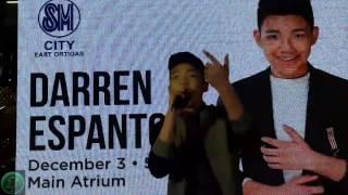 Darren Espanto BE WITH ME Album Tour at SM City East Ortigas (12/03/2016)