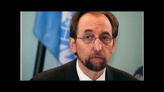 News U.N. rights boss takes aim at U.S migration policy, China, Myanmar...