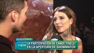 Cande Tinelli nos adelantó su participación en Showmatch