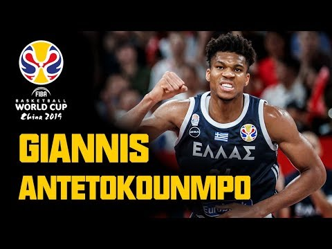 Giannis Antetokounmpo FULL HIGHLIGHTS 1st & 2nd Round FIBA Basketball World Cup 2019