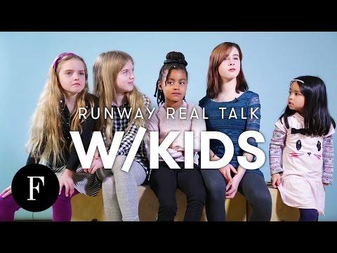 Kids React to Paris Fashion Week Runway Looks