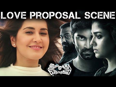 Xxx Mp4 Imaikka Nodigal Movie Scene Love Proposal Scene Atharva Rashi Khanna 3gp Sex