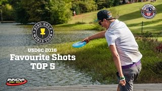 Top-5 shots of US Disc Golf Championship 2016