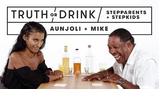 Stepparents & Stepkids Play Truth or Drink (Aunjoli & Mike)   Truth or Drink   Cut