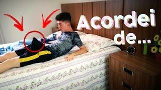 Como é acordar de PAU DURO?! OLHA NO QUE DEU !!!