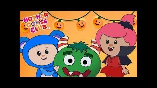 LIVE | Halloween Songs and more | Mother Goose Club | Trick or Treat? Cartoon songs for Children
