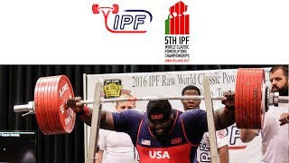 Women Open, 72 kg B Group - World Classic Powerlifting Championships 2017