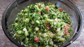 tabouleh salad | سالاد تبولی