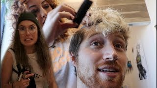 DYING MY HAIR AND SCARING MY GIRLFRIEND!