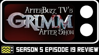 Grimm Season 5 Episode 19 After Show w/ Reggie Lee | AfterBuzz TV