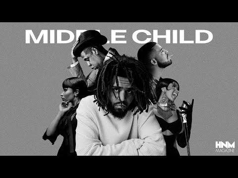 J. Cole Middle Child feat. Drake Jay Z Nicki Minaj & Cardi B MASHUP