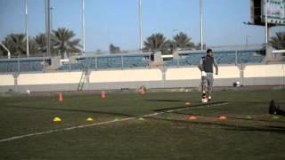 تمرين الفريق الاول  بالاستاد الرياضي استعداد للمجزل ( 4 )