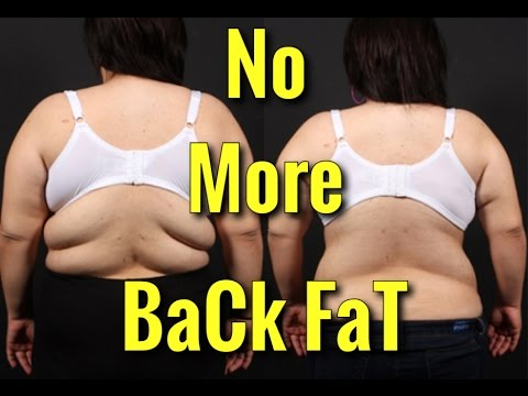 How to Lose Back Fat - Top 4 Exercises