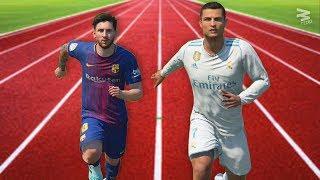 FIFA 18 Speed Test: Cristiano Ronaldo Vs Lionel Messi